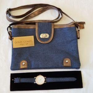 Gold Coast Denim purse
